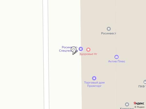 КОМПЛЕКСНОЕ ОБЕСПЕЧЕНИЕ на карте Челябинска
