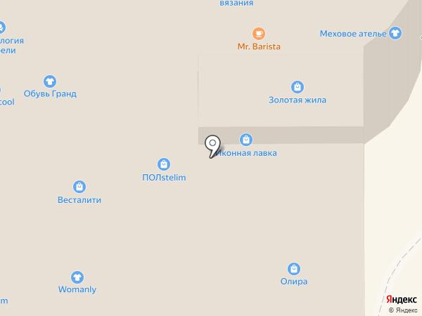 Магазин головных уборов на проспекте Победы на карте Челябинска