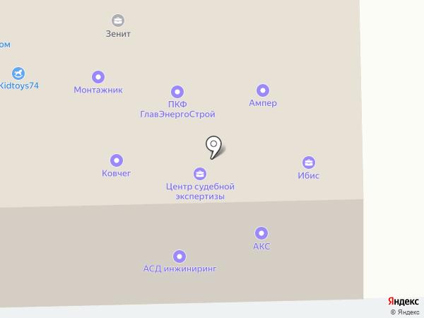 Свой дом на карте Челябинска