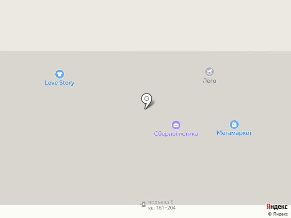 Елена на карте Челябинска