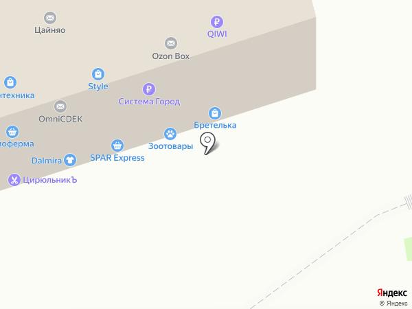Woman.club на карте Челябинска