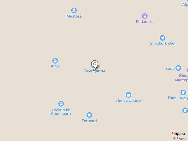 Caprice на карте Челябинска