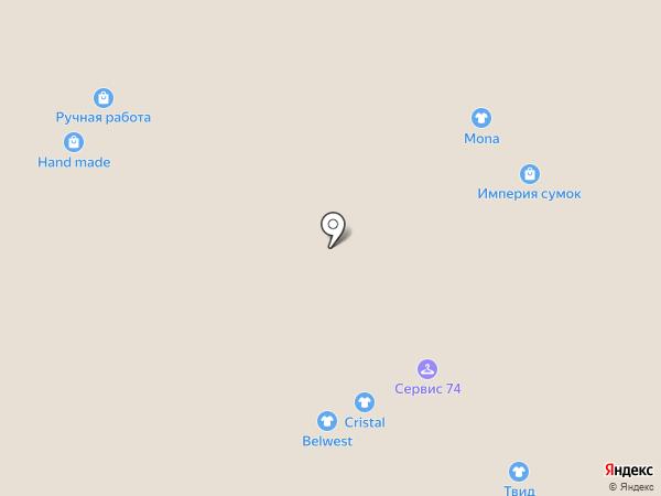 Уральские пельмешки на карте Челябинска