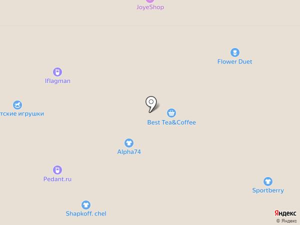 Belwest на карте Челябинска