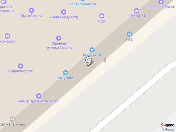 Bumerang на карте Челябинска