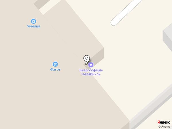 Будокай на карте Челябинска