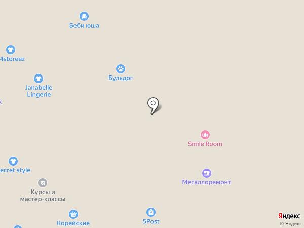 Косметичка на карте Челябинска