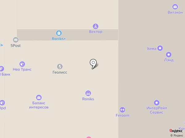 Транспортная фирма на карте Челябинска