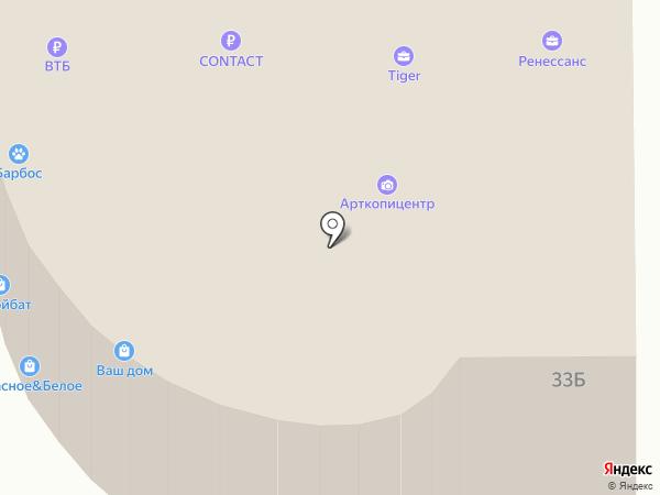 Урал-Центр на карте Челябинска