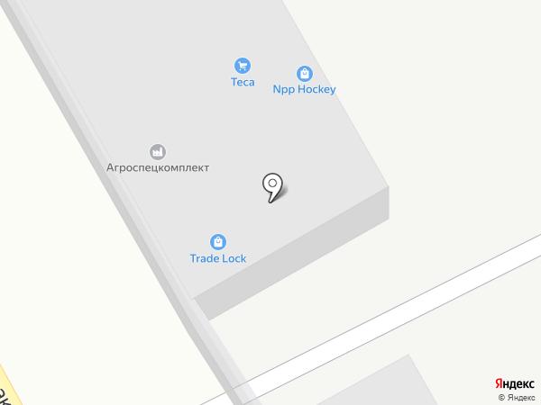 РОСЗАПЧАСТЬ на карте Челябинска