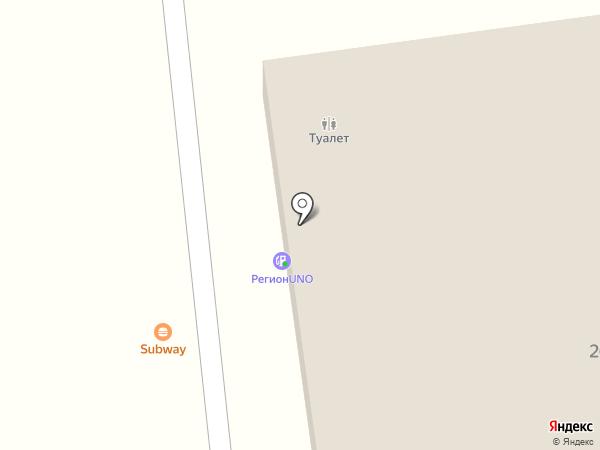 АЗС Башнефть на карте Нового Поля