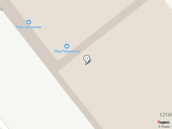 Техно-лэнд на карте Челябинска