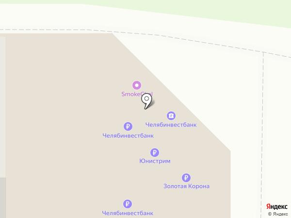 Банкомат, АИБ Челябинвестбанк, ПАО на карте Челябинска