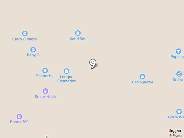 Шерстянка на карте Челябинска