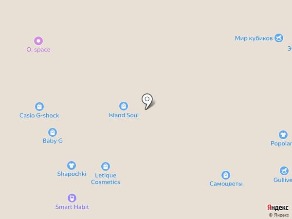 Именная лавка на карте Челябинска
