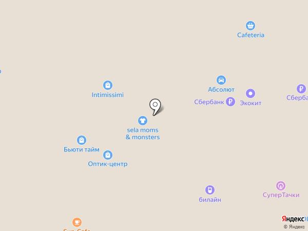 ИГРУША на карте Челябинска