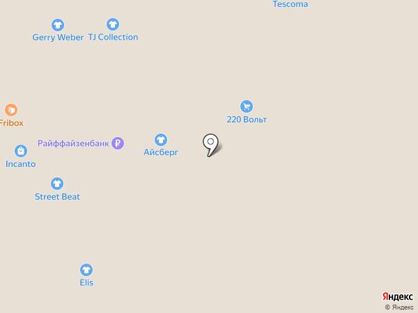 Ананас на карте Челябинска