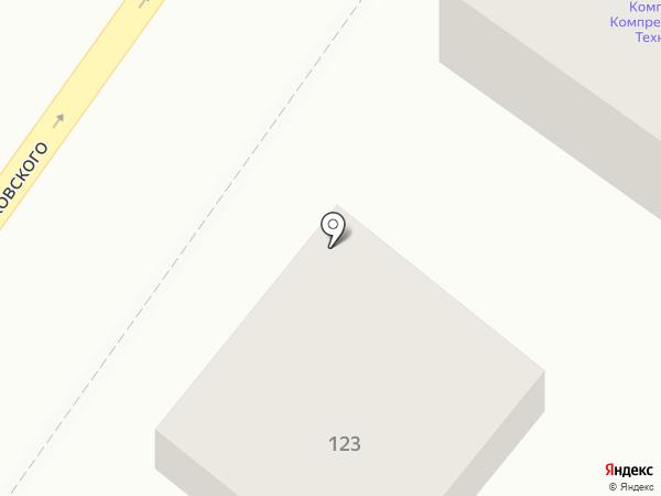 Самопогрузчик на карте Челябинска