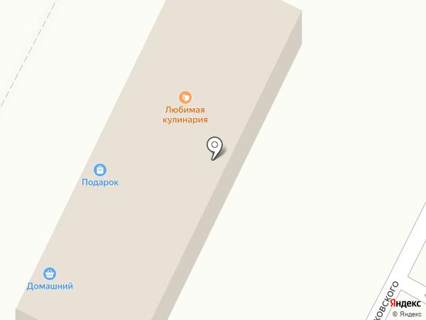 Проспект на карте Челябинска
