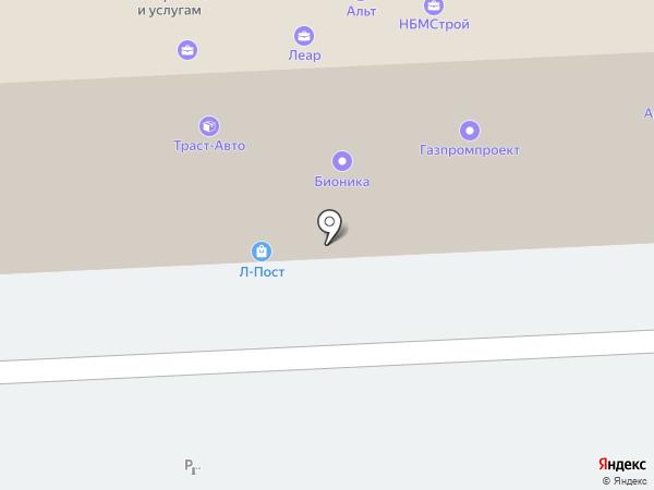 Газпроект+ на карте Челябинска