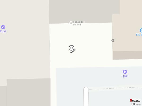 Автовышка на карте Челябинска