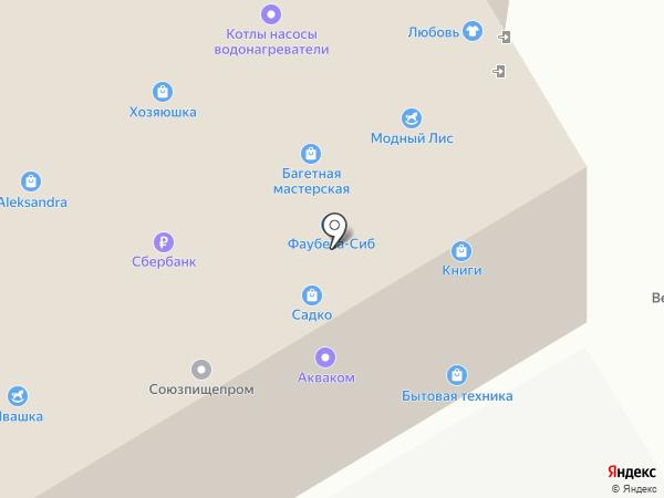 Мишутка на карте Челябинска