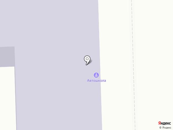 Муниципальная автошкола на карте Челябинска