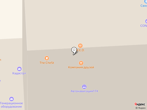 УралтехПром Холдинг на карте Челябинска
