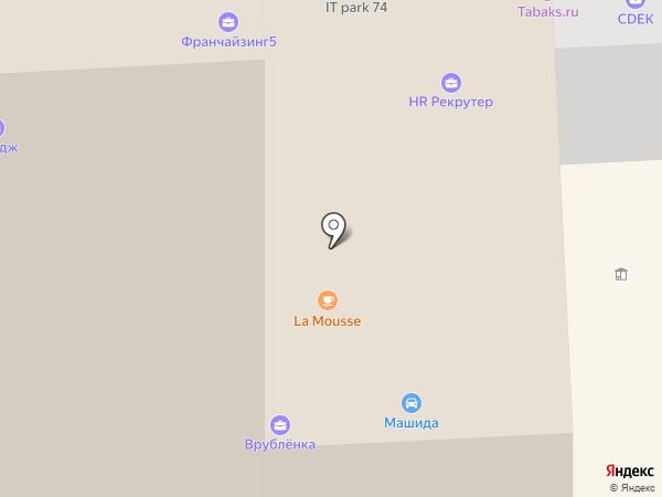 Гениальный штаб на карте Челябинска