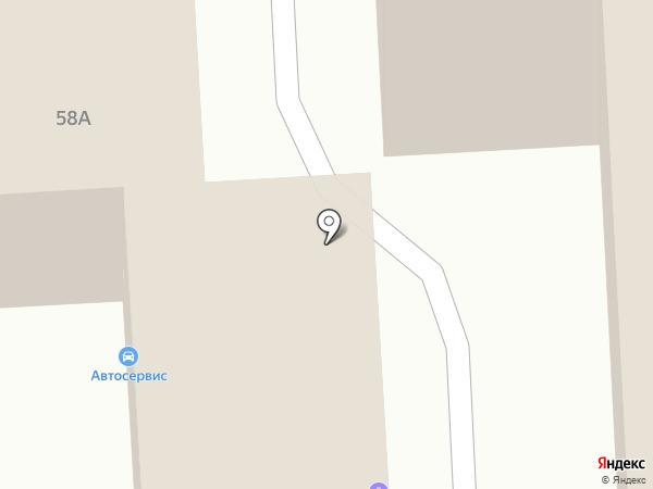 Кая на карте Челябинска