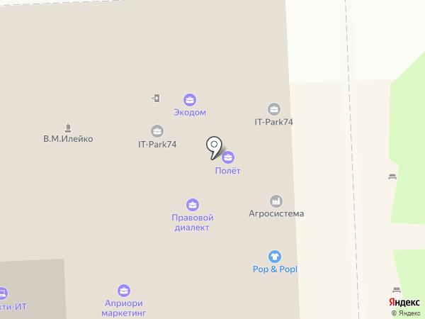 Центр привлечения инвестиций Челябинск на карте Челябинска