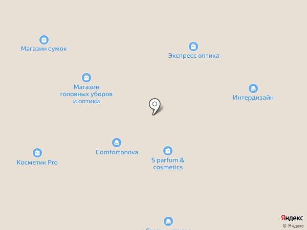 Мебель братьев Баженовых на карте Челябинска