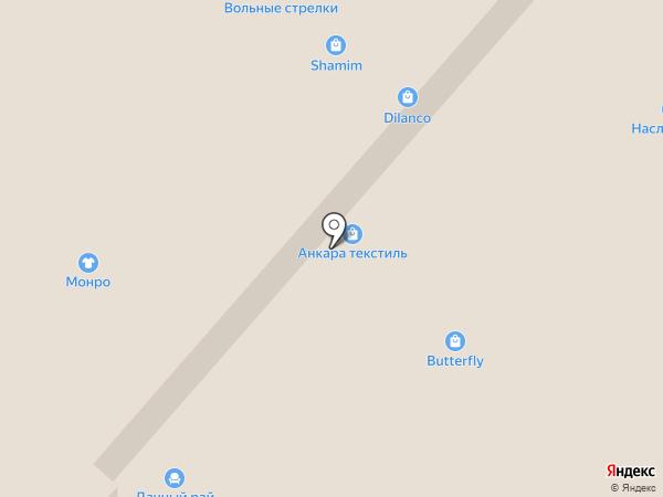 Столплит на карте Челябинска