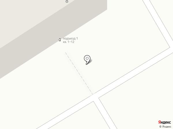 Медуница на карте Челябинска