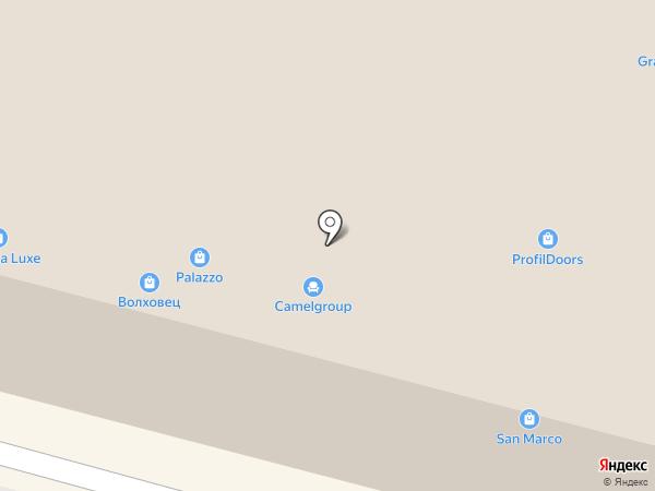 Галерея на карте Челябинска