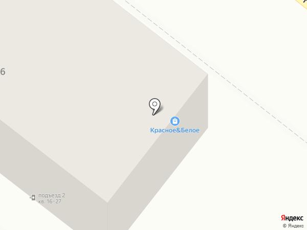 Утес на карте Челябинска