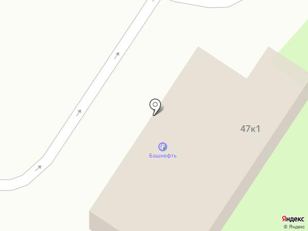 АЗС на карте Челябинска