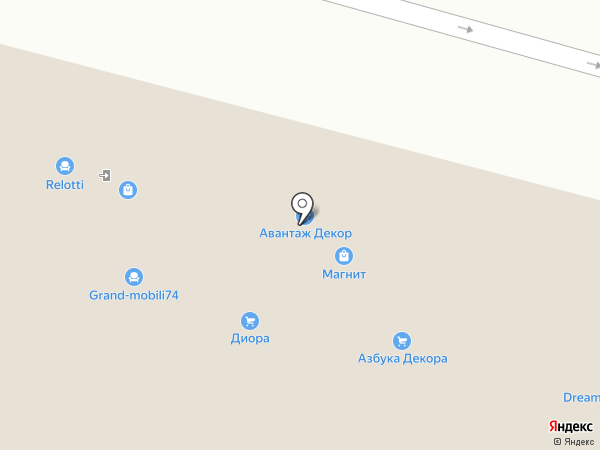 My bed на карте Челябинска