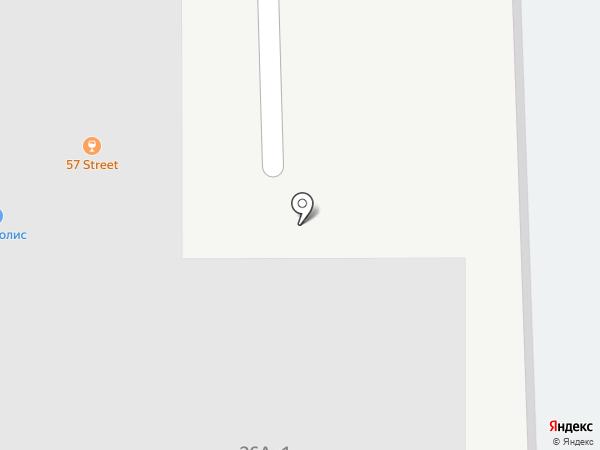 Крепов на карте Челябинска
