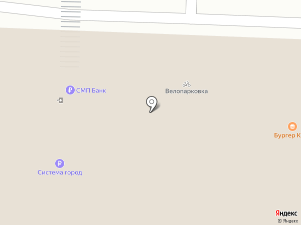 Лента на карте Челябинска