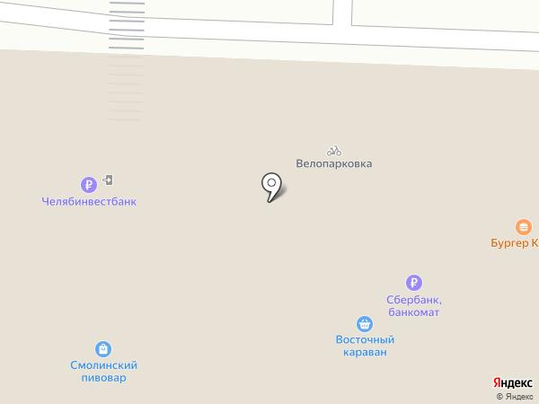 Срочная Замочная на карте Челябинска