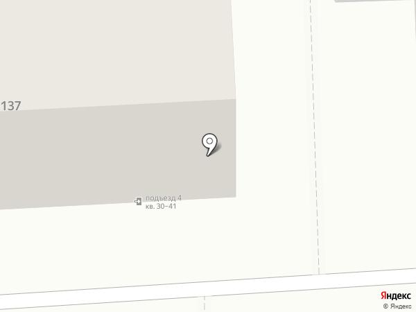 Вектор на карте Челябинска