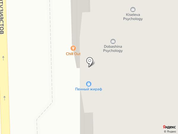Мишель на карте Челябинска