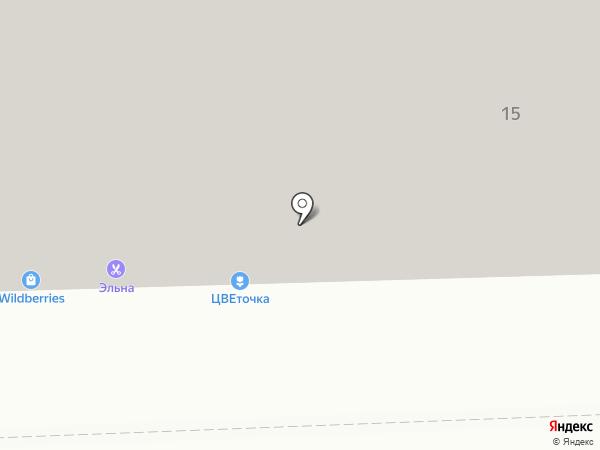 Буратино на карте Челябинска