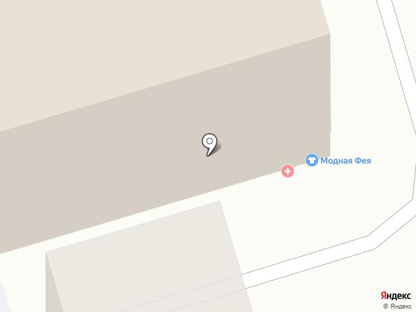 Мовес на карте Челябинска
