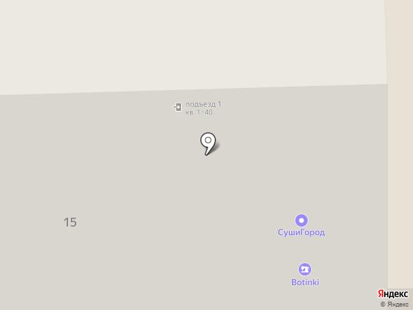 Теплотех на карте Челябинска