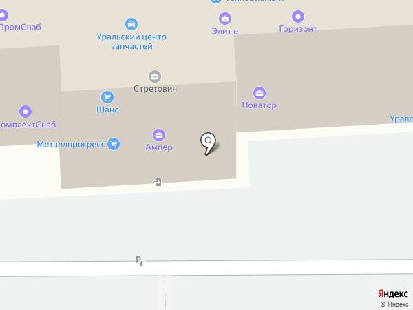 ПРОФУЧЕТ на карте Челябинска