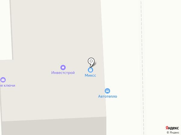 Сулян на карте Челябинска