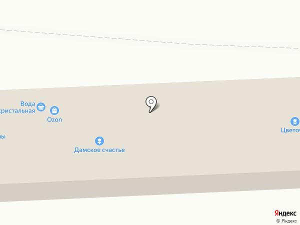 Флоренция на карте Челябинска