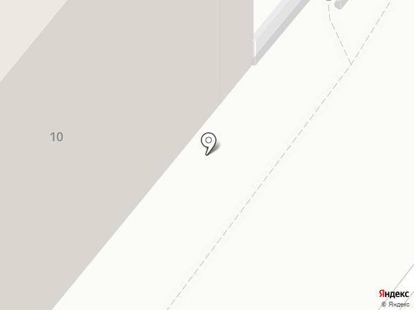 Яблочко на карте Челябинска